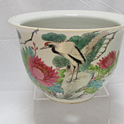 REDUCED Chinese Qing Dynasty Jardiniere