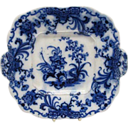 SALE Early English Flo Blue Plate