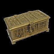 SALE German Bronze   Box Erhard & Sohne