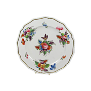 Antique Royal Crown Derby Botanical Cabinet Plate