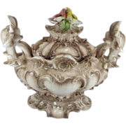 REDUCED Large Capodimonte Soup Tureen