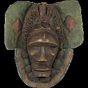 SOLD African  Wood Mask Dan