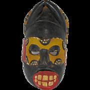 SALE African Carved Mask
