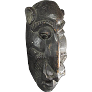 SALE African Wood Carved Mask/Sculpture