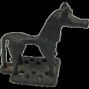 Miniature Etruscan Metal Horse