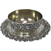 SALE Sterling Bowl and Tray