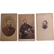 Five Carte de Visite Cards