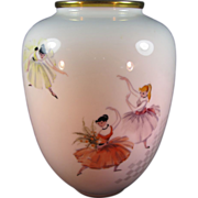 SALE Rosenthal Porcelain Ballet Dancer Vase