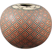 SOLD Pottery Seed Jar