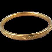 Gold Filled Baby Bracelet