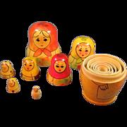 Seven Russian Nesting Dolls