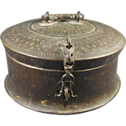 Antique Chinese  Mongolian Lock Box