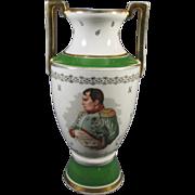 Napoleon and Josephine Porcelain French Vase
