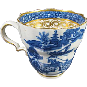 18th Century Caughley [ or salopian ] Tea Cup