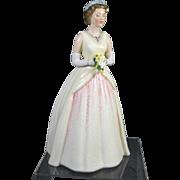 Queen Elizabeth 11 Doulton Figurine
