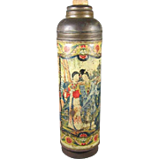 Antique Japanese Thermos Tin