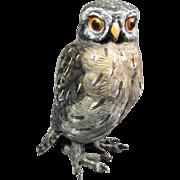 Austrian Bronze Owl