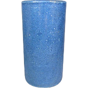 REDUCED Tall Antique Chinese Blue Brushpot