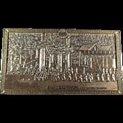 Processional Metal Plaque Japan