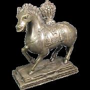 SALE Sino-Tibetan Bronze Horse