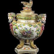 SALE Capodimonte Jar/Urn