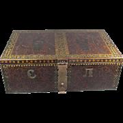 SALE Old Steel Storage Box