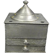 SALE Taunton Pewter Ink Well