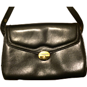 SOLD Authentic Gucci Black Leather Handbag - Vintage