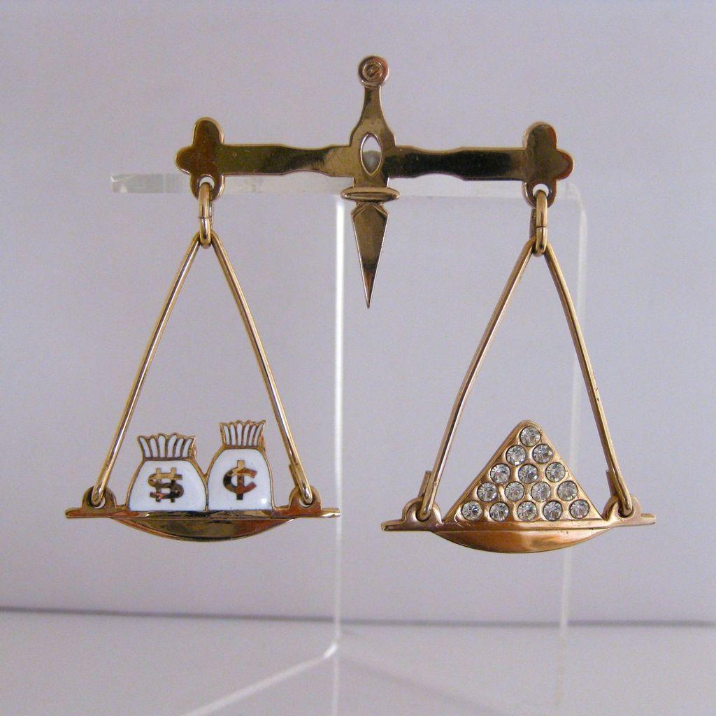 Balance Scale Enamel balance scale pin Uneven Balance Scale Clip Art