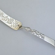 Sterling Silver Aesthetic Master Butter Knife 1890