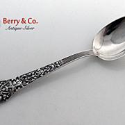 Old Medici Sterling Silver 6 Dessert Spoons Gorham 1880