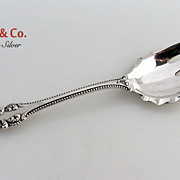 Old Colonial Cold Meat Fork Towle Sterling Silver 1895