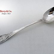 Platter Spoon Italian William Gale 1860 Sterling Silver Monogram EMG
