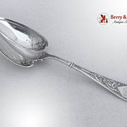 Raphael Gorham Sterling Silver Berry Spoon 1874