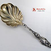 Lily Berry Spoon Sterling Silver Whiting 1902