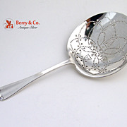 Flemish Sterling Silver Saratoga Chips Server Tiffany and Company 1911