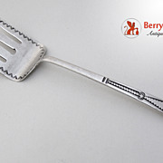 Navajo Serving Fork Sterling Silver 1940