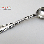 SALE PENDING Louis XV Salt Spoon Whiting Sterling Silver Patent 1891