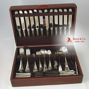 Carmel Flatware Set 118 Pcs Wallace Sterling Silver 1912