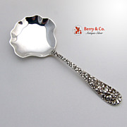 SALE Rose Candy or Nut Spoon Stieff Sterling Silver 1892
