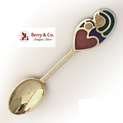 Christmas Spoon 1968 Michelsen Sterling Silver