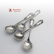 Apollo Chocolate Spoons Knowles Sterling Silver