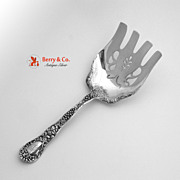 Meadow Asparagus Serving Fork Gorham Sterling Silver 1897