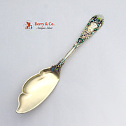 Renaissance Jelly Knife Sterling Silver Gilt Enamel Dominick and Haff 1894