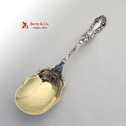 Imperial Chrysanthemum Berry Spoon Sterling Silver Gorham 1894