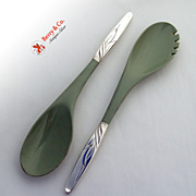 Southwind Salad Serving Set Sterling Silver Towle 1952