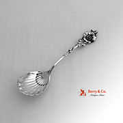 Harlequin Sugar Spoon Sterling Silver Reed and Barton 1958