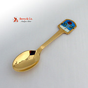 Christmas Spoon 1977 Michelsen Sterling Silver
