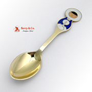 Christmas Spoon 1969 Michelsen Sterling Silver