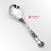 Edgewood Sugar Shell Spoon Sterling Silver International 1909